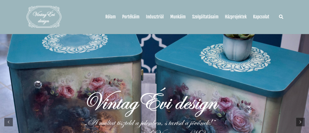 Vintag Évi design